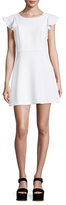 BCBGeneration Crewneck Flared Dress