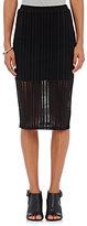 Alexander Wang Women's Perforated Jersey Skirt