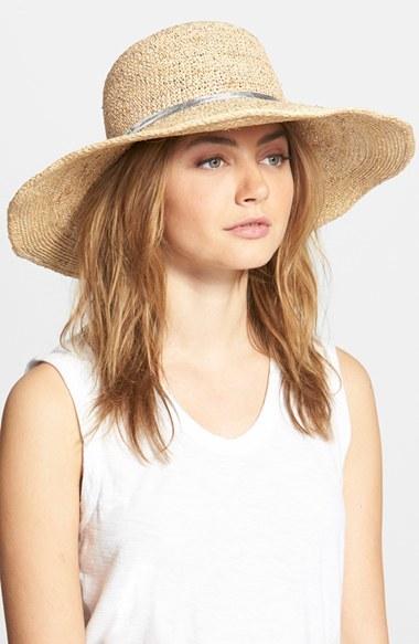 Flora Bella Crochet Raffia Sun Hat