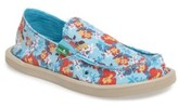 Sanuk Girl's Lil Donna Aloha Slip-On