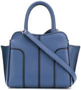 Tod's panelled shoulder bag