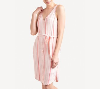 Splendid Stripe Tank Dress - Sunshade Stripe