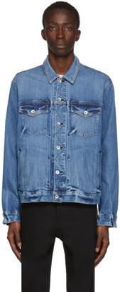 Rag & Bone Blue Denim Definitive Jacket
