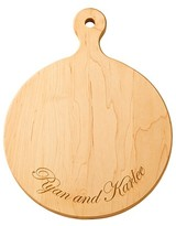 The Well Appointed House Personalized Round Artisan Cutting Board