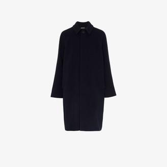 Balenciaga Mid-Length Wool Opera Coat