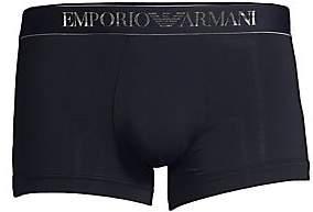 Emporio Armani Men's Stretch Cotton Trunks