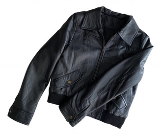 Les Petites Black Leather Leather jackets