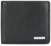 HUGO BOSS textured portfolio wallet - men - Calf Leather - One Size