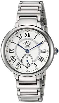 GV2 Women's Rome Swiss Quartz Watch with Stainless Steel Strap