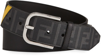 Fendi Men's FF Logo Belt