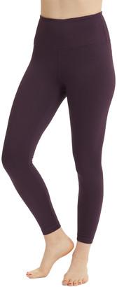 Velocity Women's Active Pants GRPLF - Grape Leaf High-Waist Leggings - Women