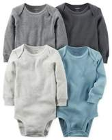 Carter's 4-Pack Long Sleeve Bodysuits