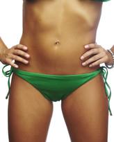 Nicolita Swimwear - Rumba Ruffles Green String Bikini Bottoms