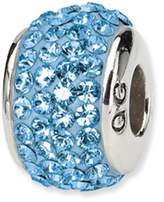 Reflections Reflection Beads Sterling Silver March Full Swarovski Crystal Bead Charm