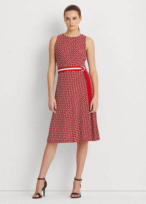 Ralph Lauren Print Jersey Dress