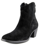 Luca Valentini Clementina Round Toe Suede Ankle Boot.