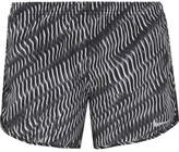 Nike Tempo Mesh-trimmed Printed Shell Shorts - Black