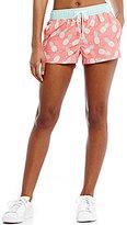 Jadelynn Brooke Summer In Seaside Pineapple-Printed Soft Workout Shorts