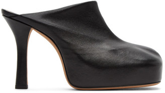 Bottega Veneta Black The Bold Mules