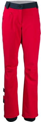 Tommy Hilfiger Straight-Leg Colour Block Trousers