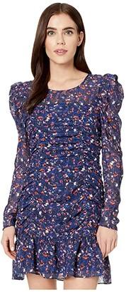 Parker Denise Dress (Midnight Guava) Women's Dress