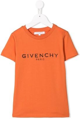 Givenchy Kids logo print T-shirt