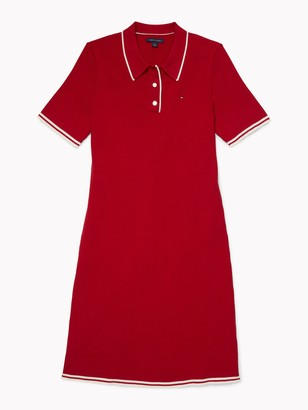 Tommy Hilfiger Ribbed Polo Dress