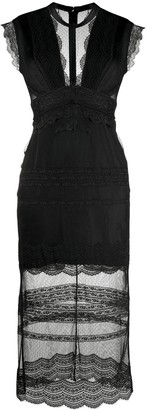 Three floor Delight lace fitted dress