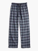 Lucky Brand Plaid Cotton Viscose Pant