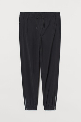 H&M Regular Fit Joggers - Black