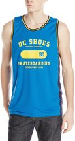 DC Men's Letter Word Tank Knit Top