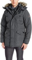Ben Sherman Men's Bubble Vestee Parka