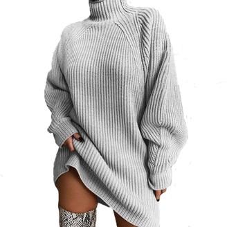 Steve Madden Sweater Mini Dress Grey