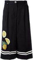 Dolce & Gabbana fruit embellished culottes