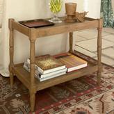 OKA Radnor Large Sofa Side Table, Weathered Oak