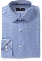 Hart Schaffner Marx Long-Sleeve Dobby-Print Woven Shirt