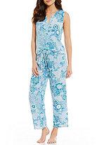 N by Natori Floral Oasis Challis Pajamas