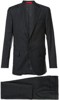 Isaia notched lapel two-piece suit - men - Wool - 48