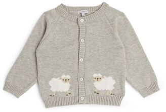 Trotters Sheep Cardigan (0-9 Months)