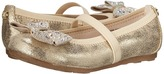 Stuart Weitzman Fannie Jewel Strap Girl's Shoes