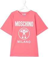 Moschino Kids question mark logo T-shirt