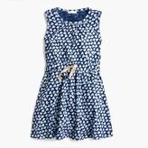 J.Crew Girls' allover heart-print dress