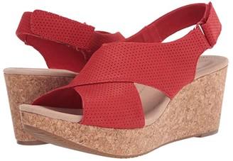 Clarks Annadel Parker (Black Suede) Women's Shoes