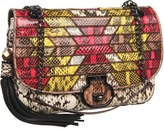 Rafe New York Angela Flap Shoulder (Natural) - Bags and Luggage