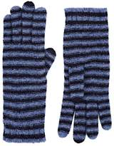Barneys New York Women's Striped Cashmere-Blend Gloves