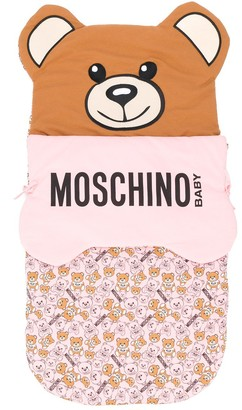 MOSCHINO BAMBINO Teddy Bear Sleeping Bag