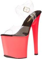 Pleaser USA Women's Taboo-708UV Platform Sandal