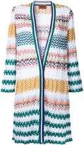 Missoni zig-zag pattern open cardigan - women - Cotton/Viscose - 42