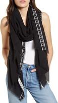 AllSaints Woven Modal & Cotton Scarf