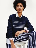 Tommy Hilfiger Tommy Icons Metallic Relaxed Fit Sweatshirt